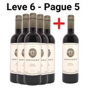 Leve 6 - Pague 5 Vinhos Tintos Hemisferio Reserva Carménère
