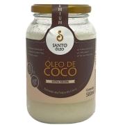 Óleo de Coco Extra Virgem Santo Óleo - 500ml -