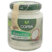 Óleo de Coco Sem Sabor / Cheiro Copra - 200ml -