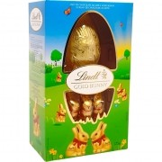 Ovo de Chocolate ao Leite e Gold Bunny Lindt - 125g -