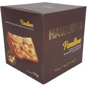 Panettone Havanna Gotas de Chocolate Recheado de Dulce de Leite - 700g -