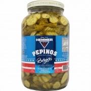 Pepinos em Rodelas Agridoce Especiais para Burgers Hemmer - 1,750kg -