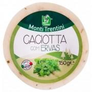 Queijo Caciotta com Ervas Monti Trentini 150g