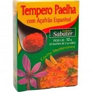 Tempero Paelha com Açafrão Espanhol Azafranes Sabater - 12g -