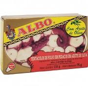 Tentáculos de Polvo em Pedaços em Em Azeite de Oliva Albo - 116g -
