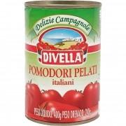 Tomates Sem Pele Divella Lata - 400g -