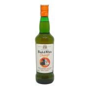 Whisky Black & White Orange  - 700ml  -