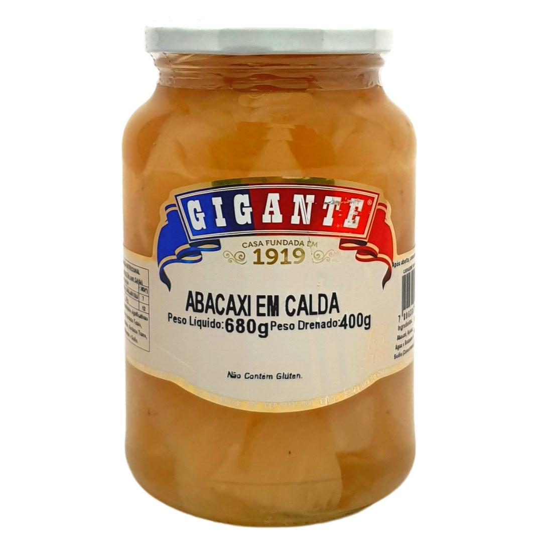 Abacaxi em Calda Gigante - 680g -