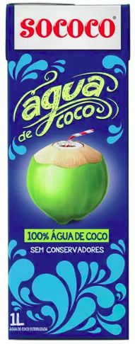 Água de Coco Sococo - 1L -