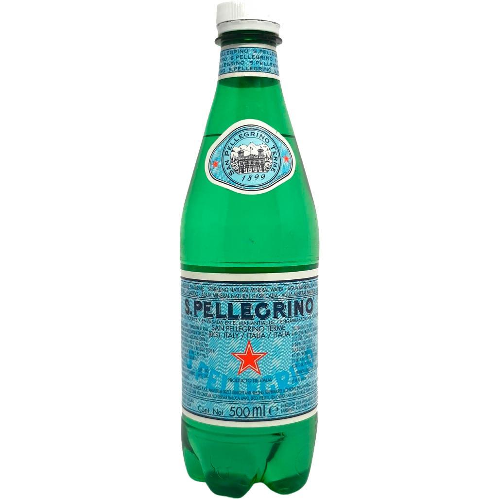 Água Mineral Com Gás San Pellegrino Garrafa 500ml