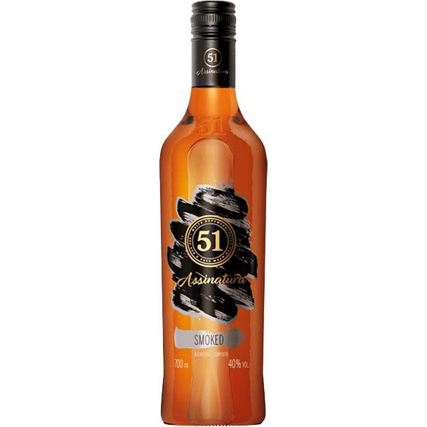 Aguardente 51 Assinatura Smoked - 700ml -