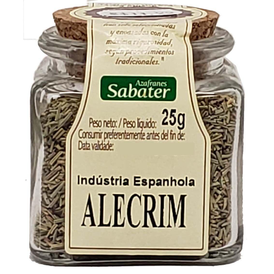 Alecrim Azafranes Sabater - 25g -