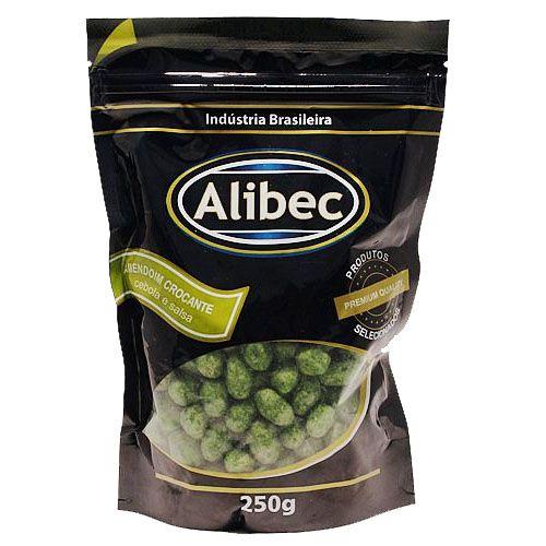 Amendoim Crocante Cebola e Salsa Alibec - 250g -