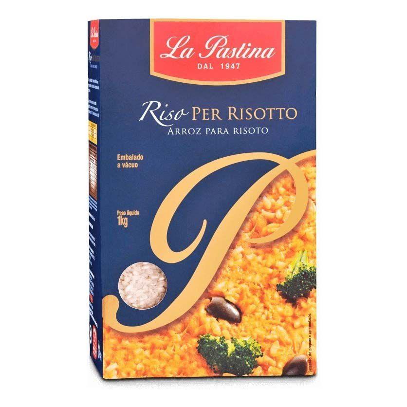 Arroz Para Risoto La Pastina - 1kg -