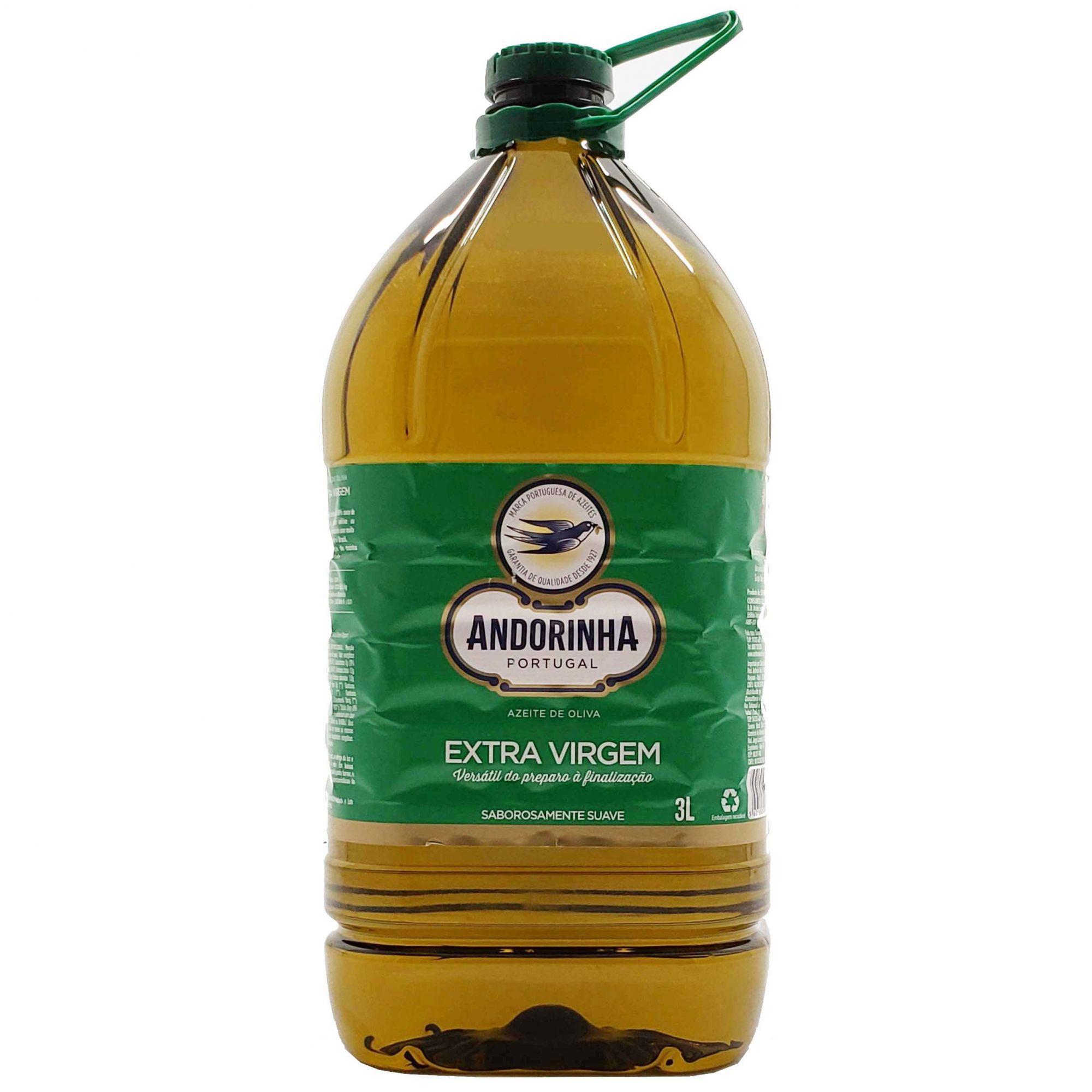 Azeite de Oliva Extra Virgem Andorinha - 3L -