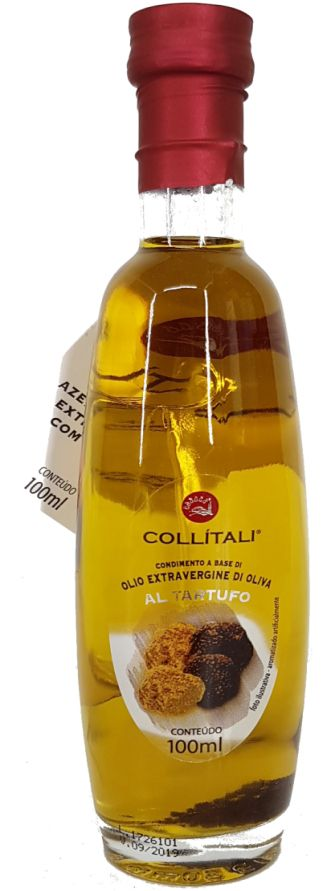 Azeite de Oliva Extra Virgem Collitali com Trufa Negra - 100ml -