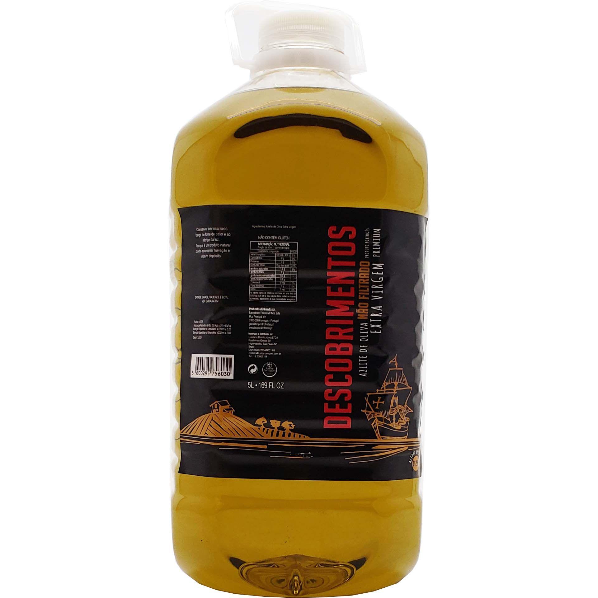 Azeite de Oliva Extra Virgem Descobrimentos - 5L -