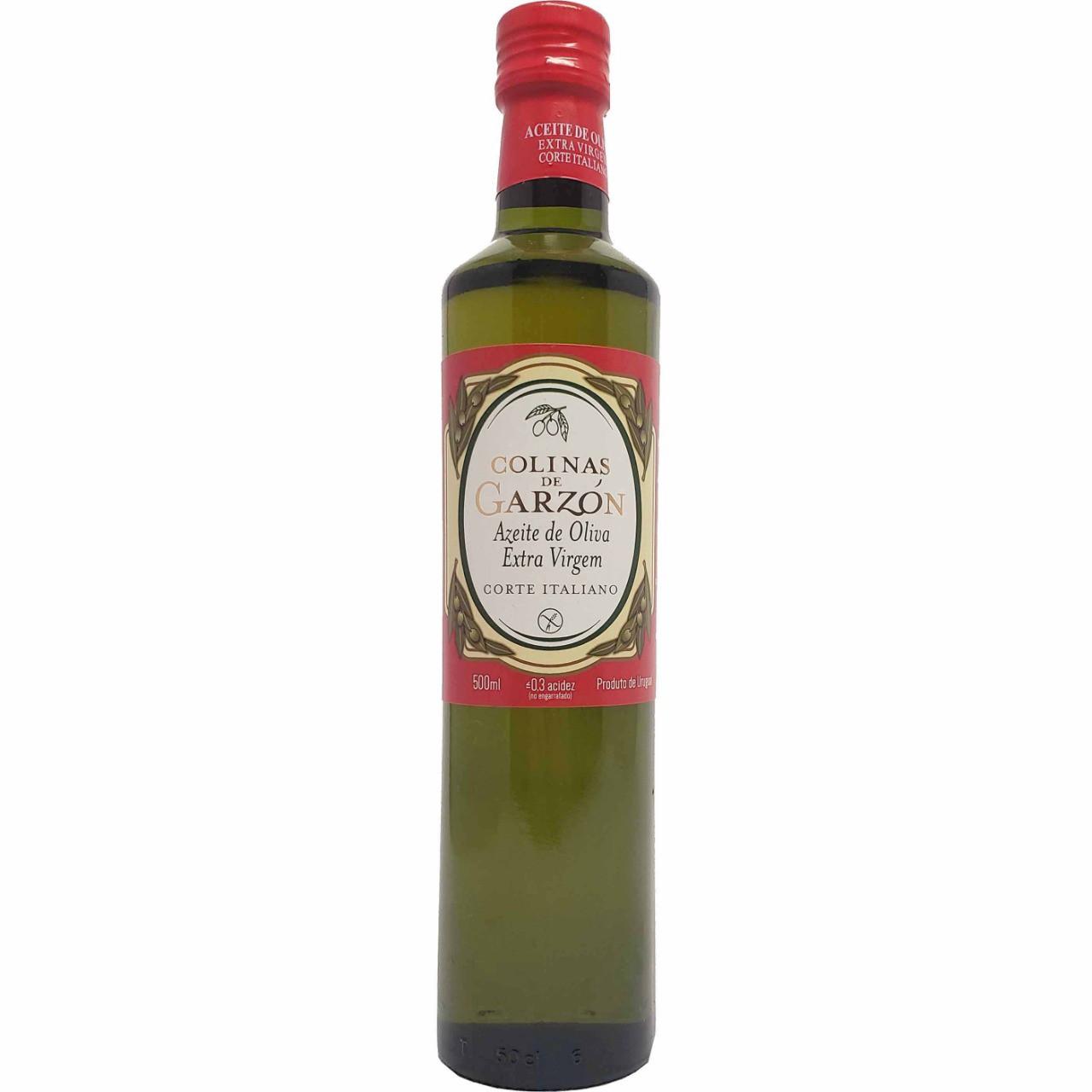 Azeite de Oliva Extra Virgem Corte Italiano Colinas de Garzón - 500ml -