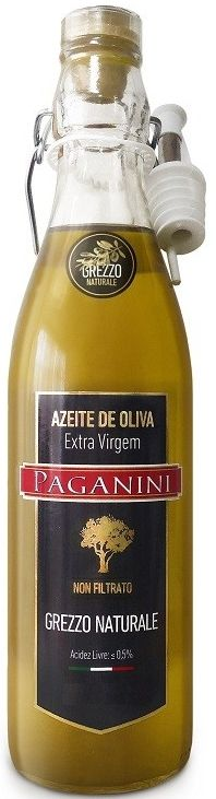 Azeite De Oliva Extra Virgem Paganini Grezzo Naturale - 500ml -