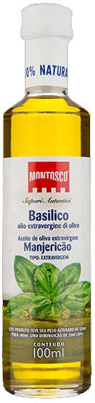 Azeite Extra Virgem Com Manjericão Montosco La Pastina - 100 ml -