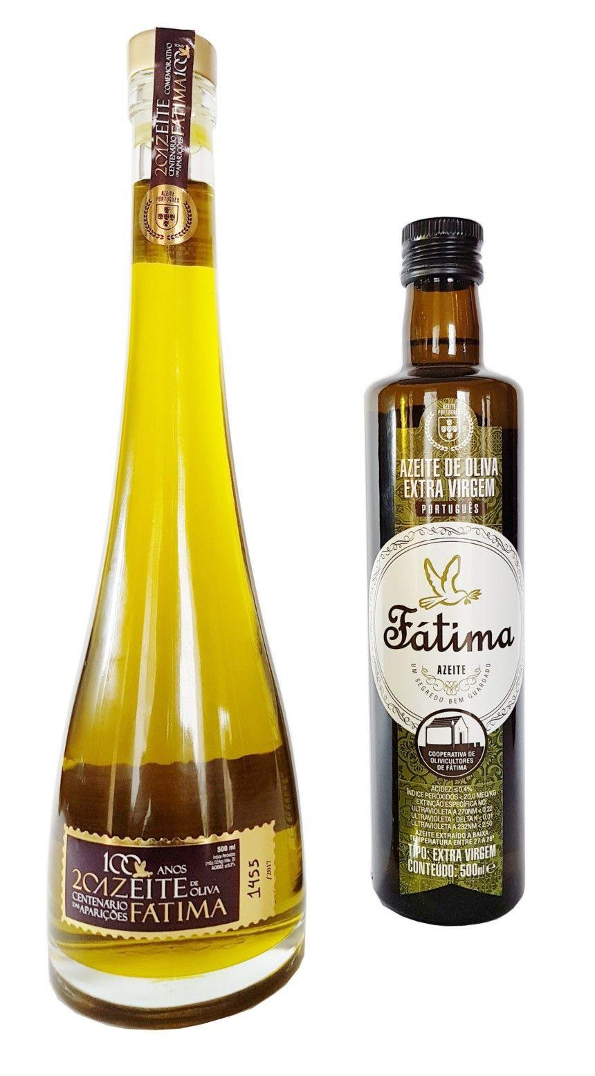 Azeite de Oliva Extra Virgem Fátima Centenário - 500 ml -
