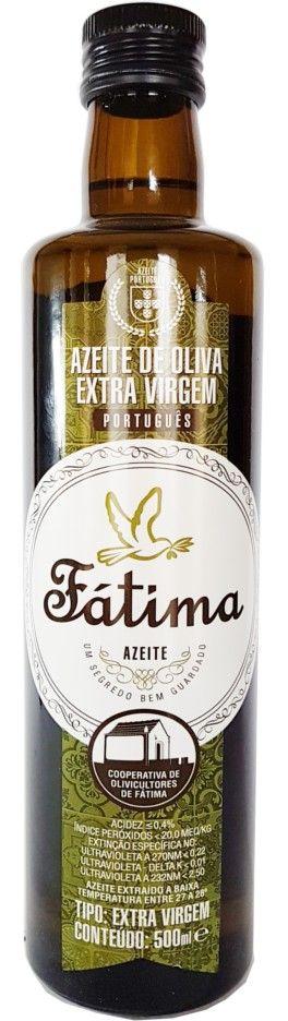 Azeite de Oliva Extra Virgem Fátima - 500ml -