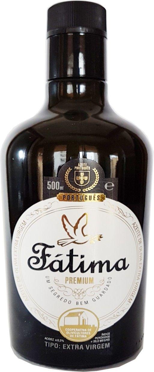 Azeite de Oliva Extra Virgem Fátima Premium - 500ml -