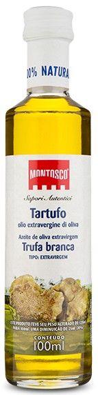 Azeite Montosco TRUFA BRANCA - Extra Virgem - 100ml