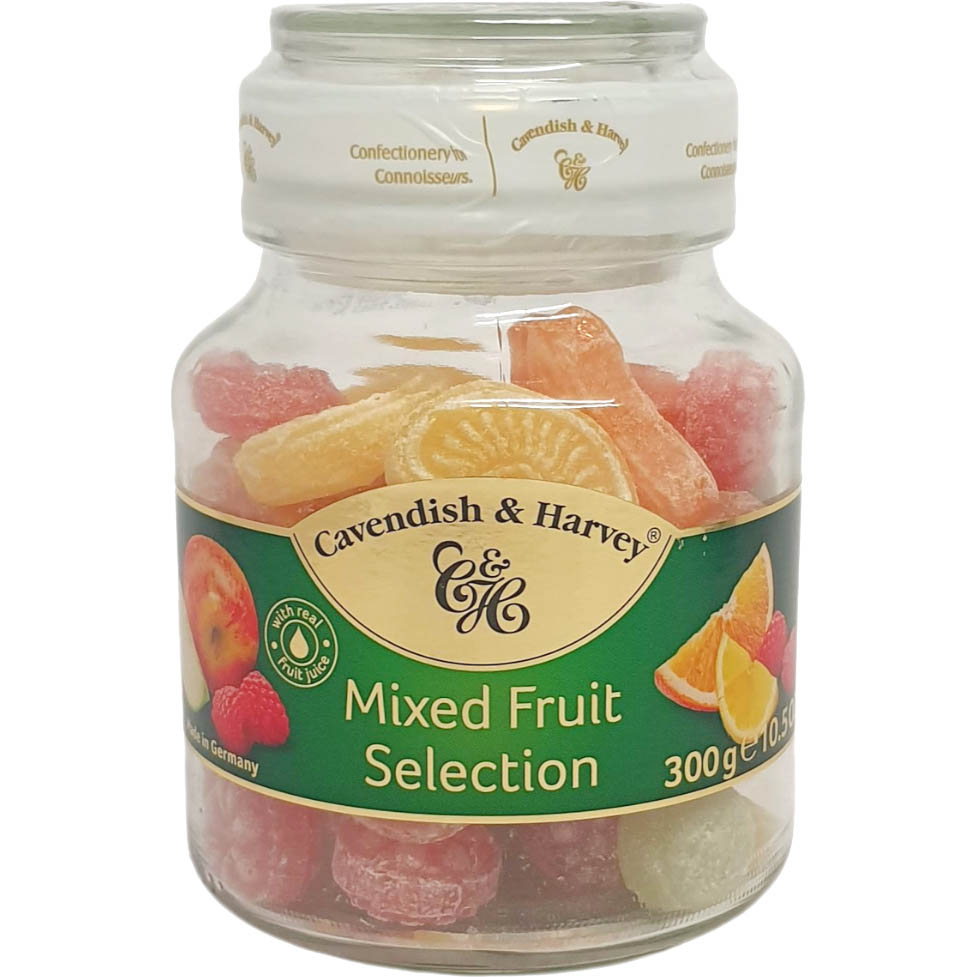 Balas Mixed Fruit Selection Cavendish & Harvey - 300g -