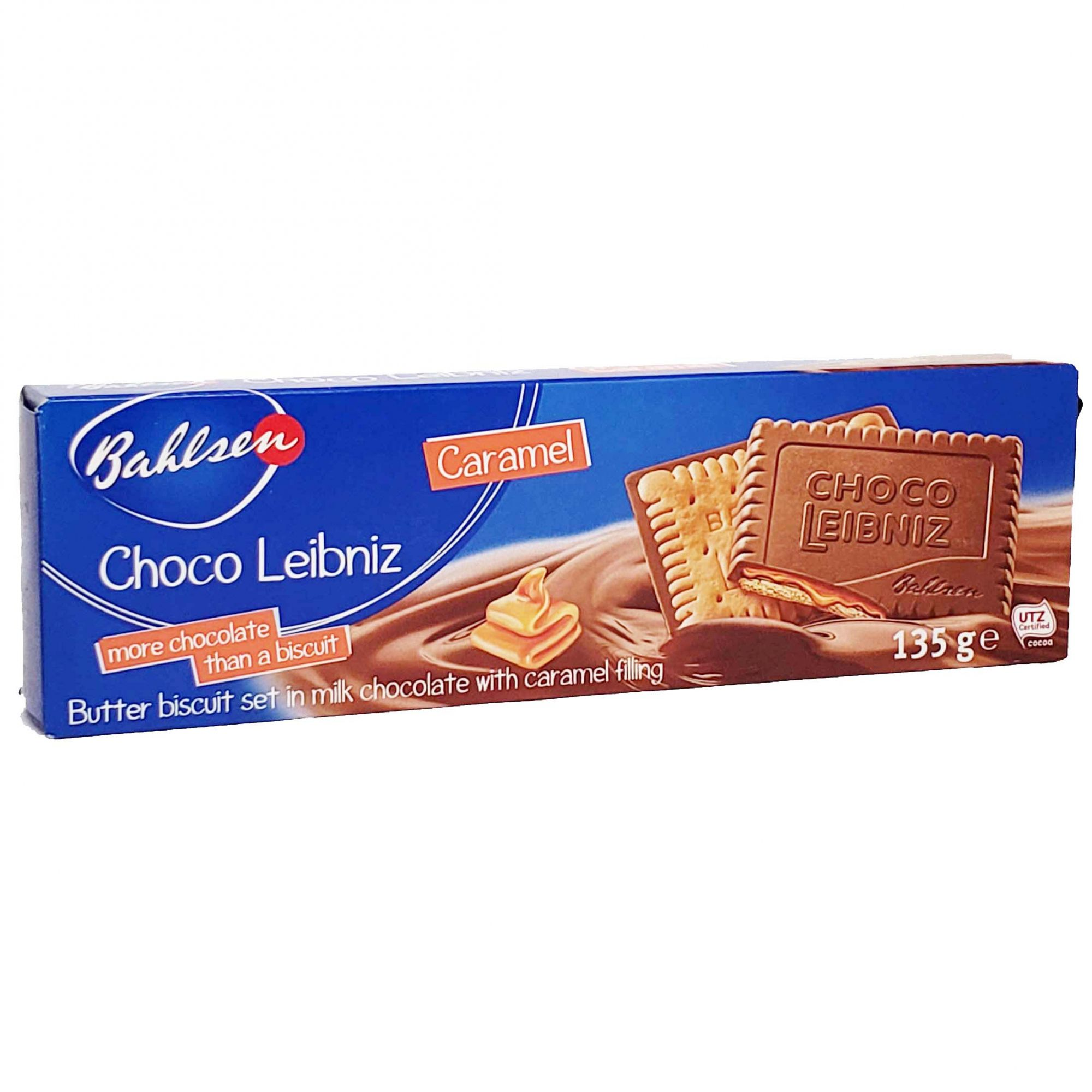Biscoito Bahlsen Choco Leibniz Caramel - 135g -