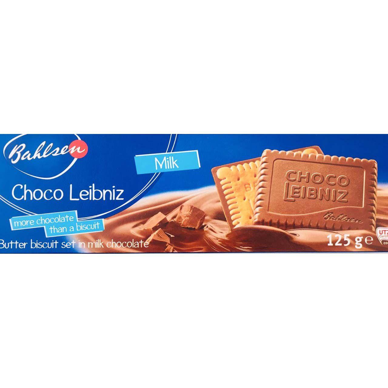 Biscoito Bahlsen Choco Leibniz Milk- 125g -