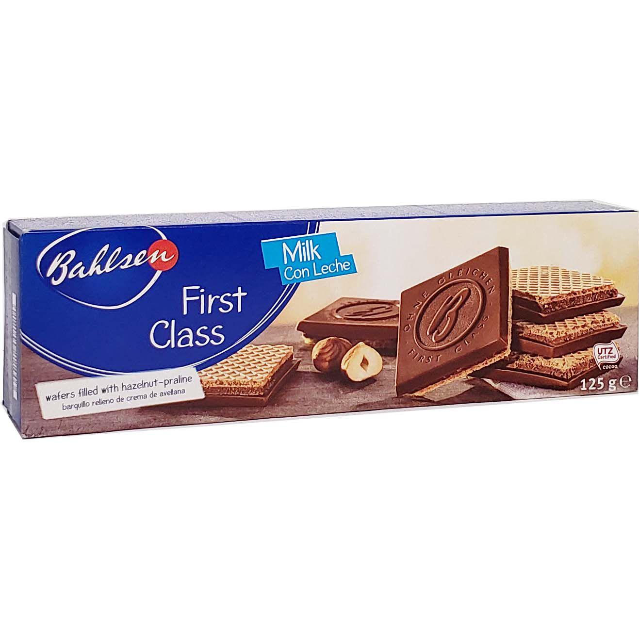 Biscoito Bahlsen First Class Milk - 125g -