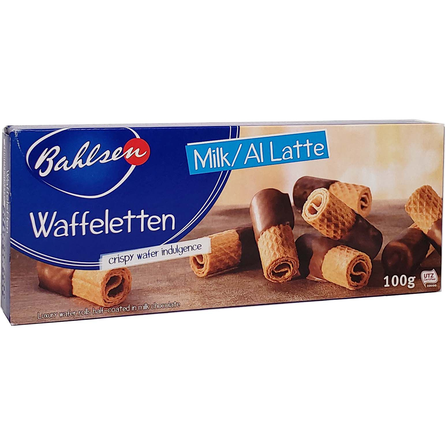 Biscoito Bahlsen Waffeletten Milk - 100g -