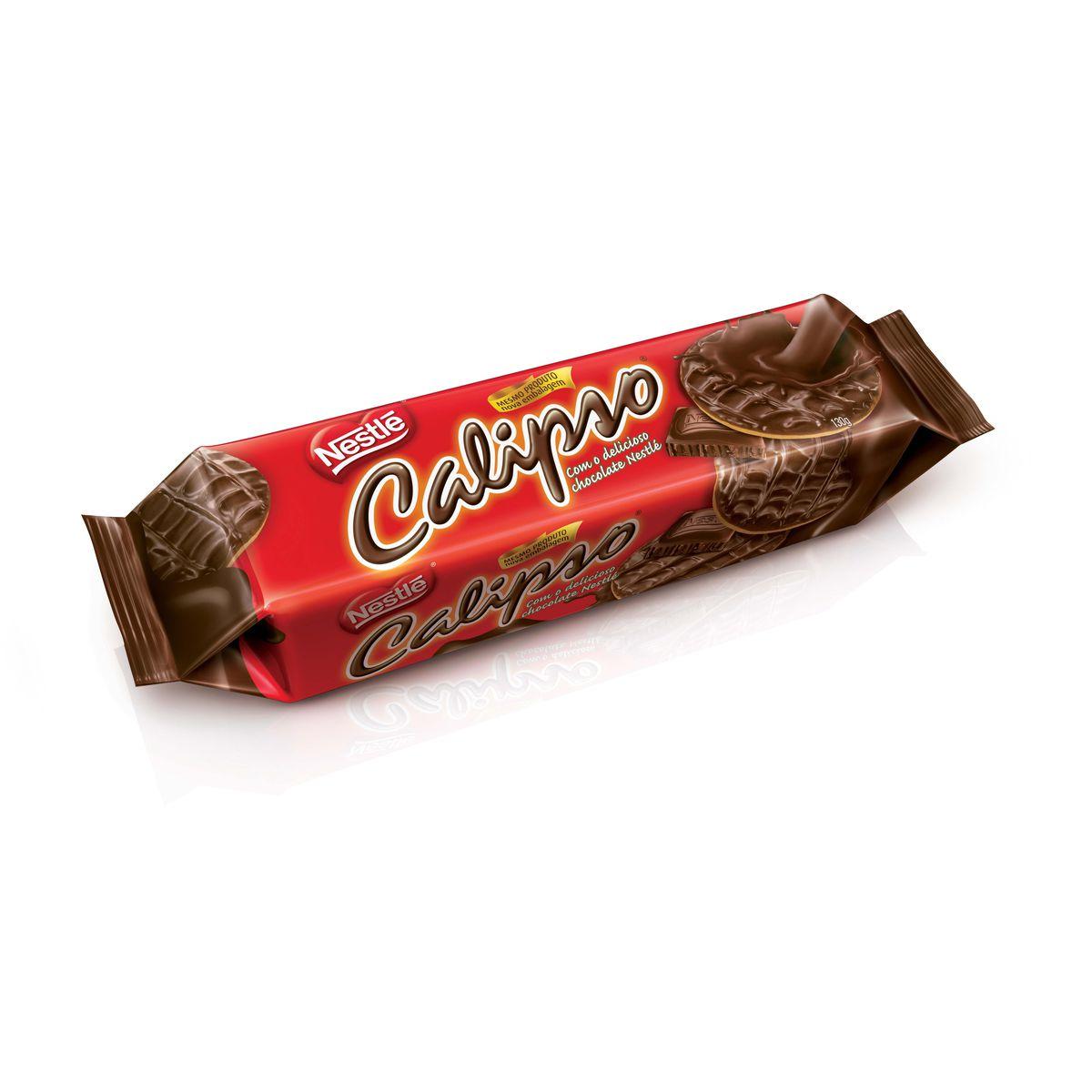 Biscoito Calipso Chocolate Ao Leite Nestlé - 130g -
