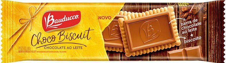 Biscoito Choco Biscuit Ao Leite Bauducco - 80g -