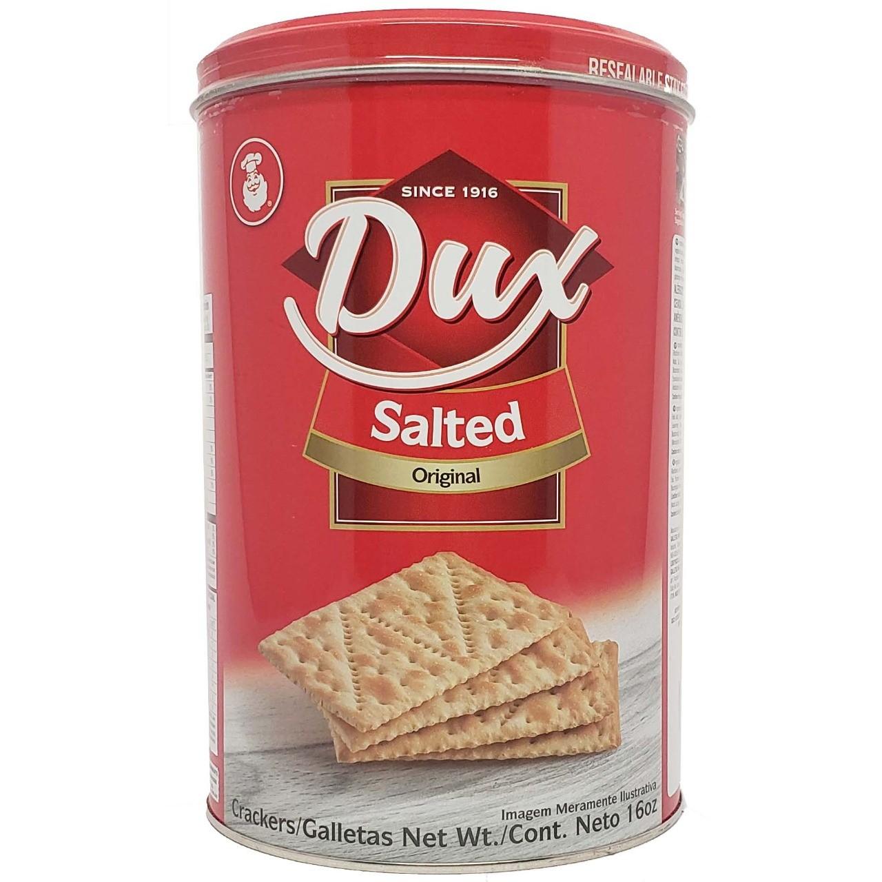 Biscoito Salgado Crackers Dux Salted Original - 454g -