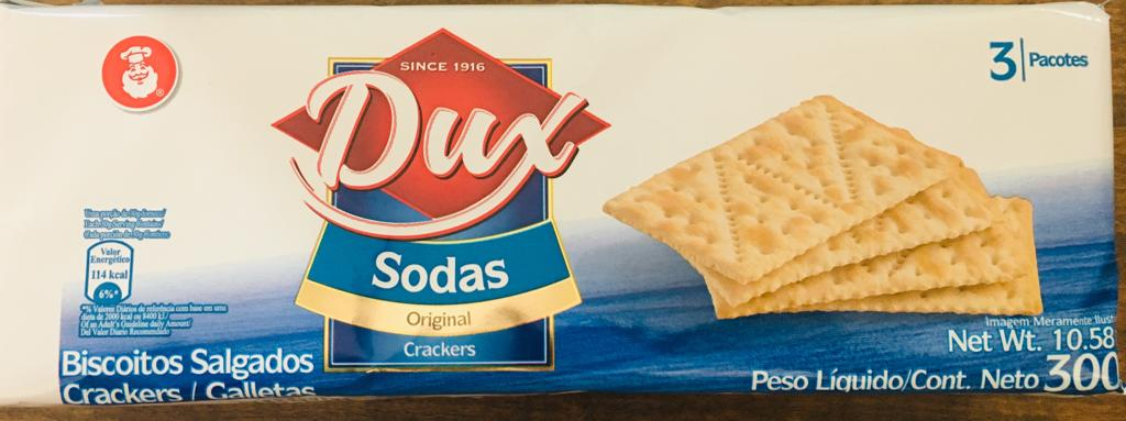 Biscoito Salgado Crackers Dux Sodas Original - 300g -