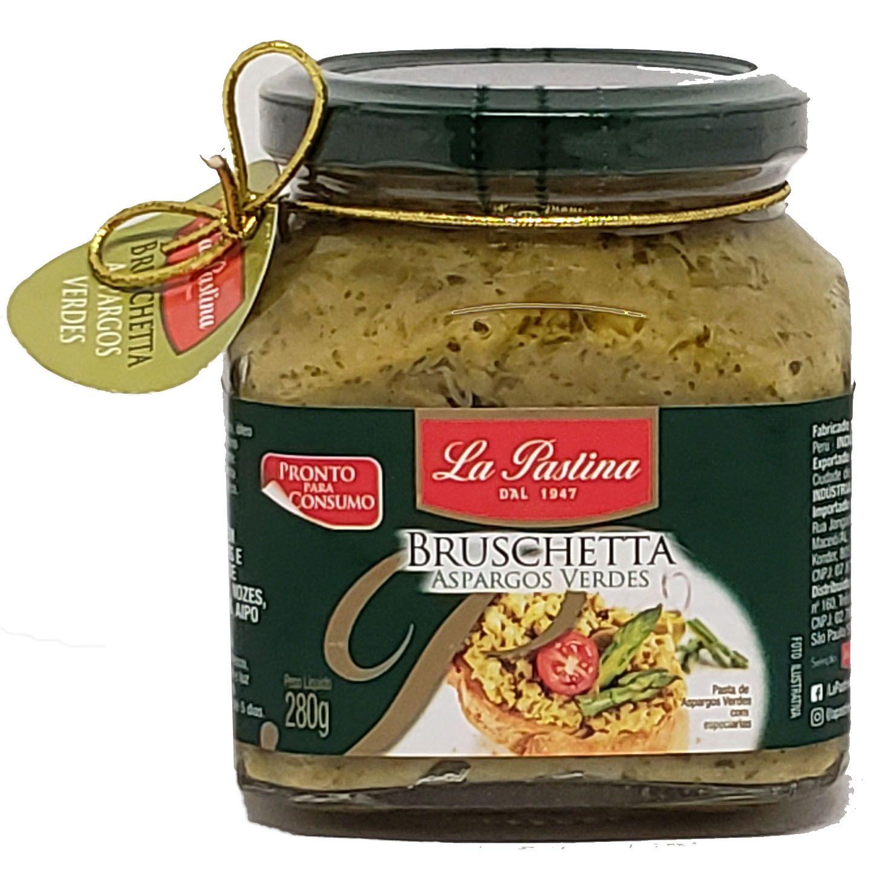 Bruschetta Aspargos Verdes La Pastina - 280G -