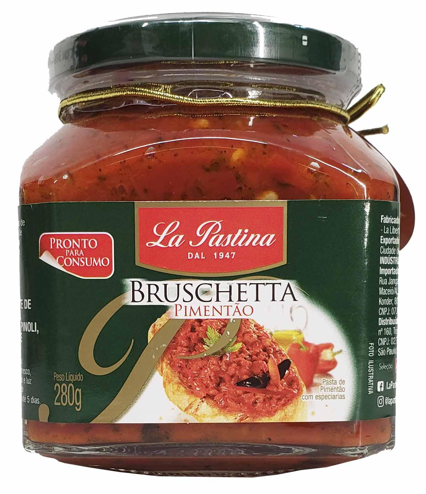 Bruschetta Pimentão La Pastina - 280g -