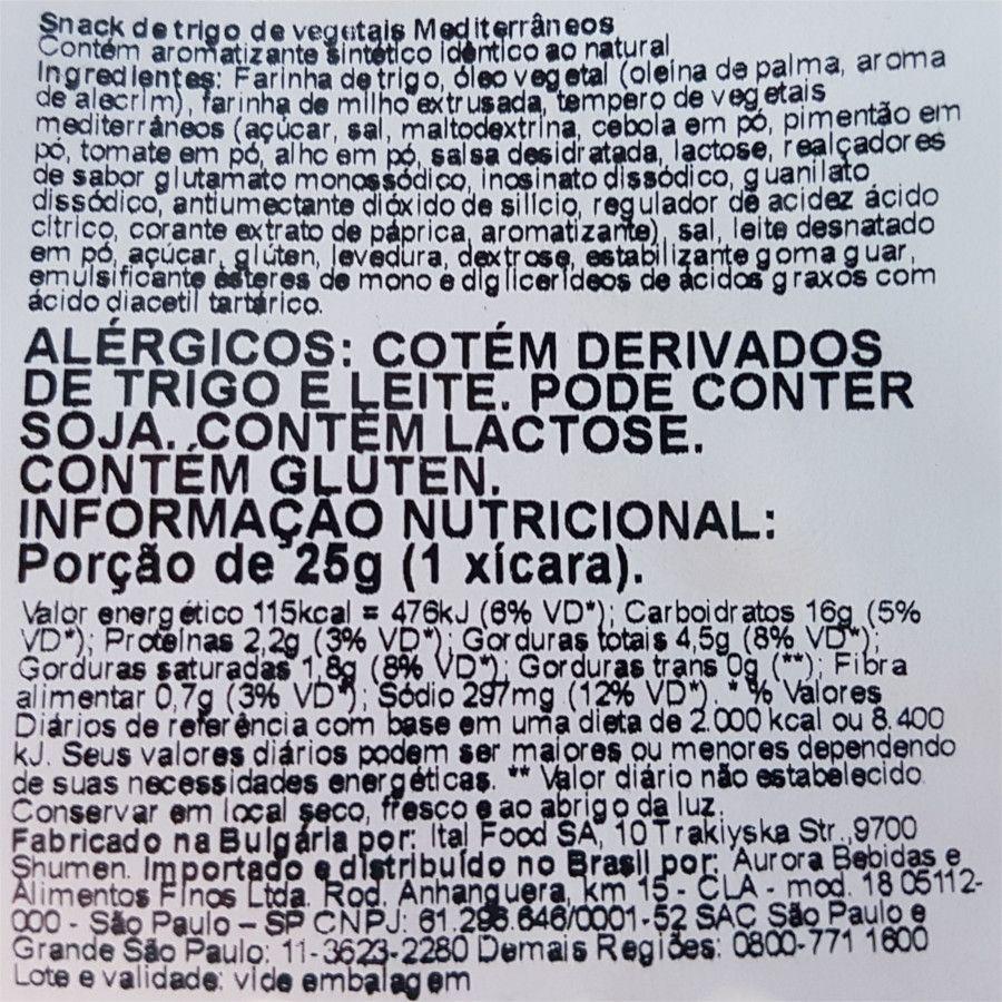 Bruschette bites - Mediterranean vegetables - Moretti - 90g
