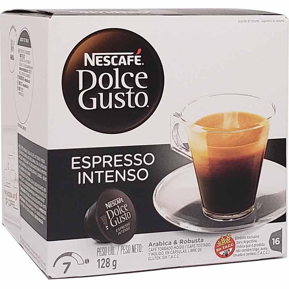 Café em Cápsula Dolce Gusto Espresso Intenso Nescafé - 128g -