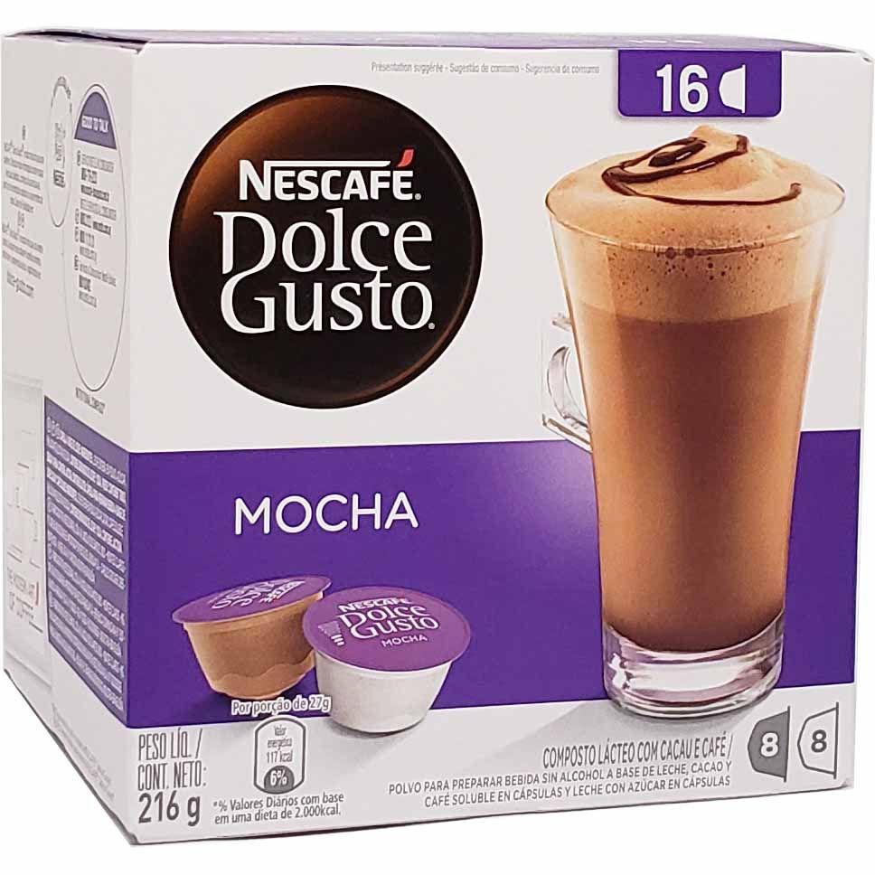 Café em Cápsula Dolce Gusto Mocha Nescafé - 216g -