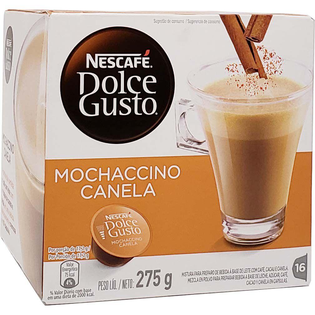 Café em Cápsula Dolce Gusto Mochaccino Canela Nescafé - 275g -