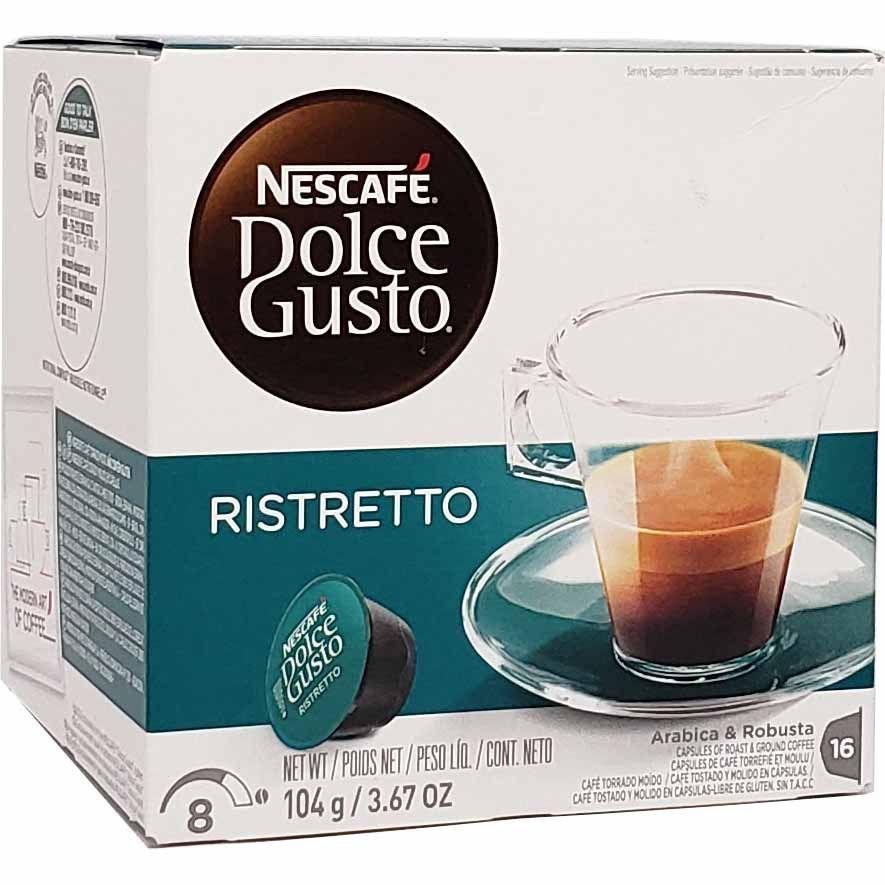 Café em Cápsula Dolce Gusto Ristretto Nescafé - 104g -