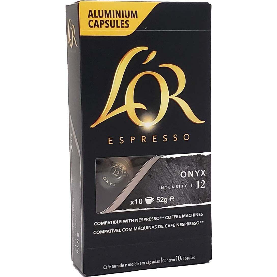 Café em Capsulas Estremo Onyx 12 L'OR Espresso - 10 x 52g -