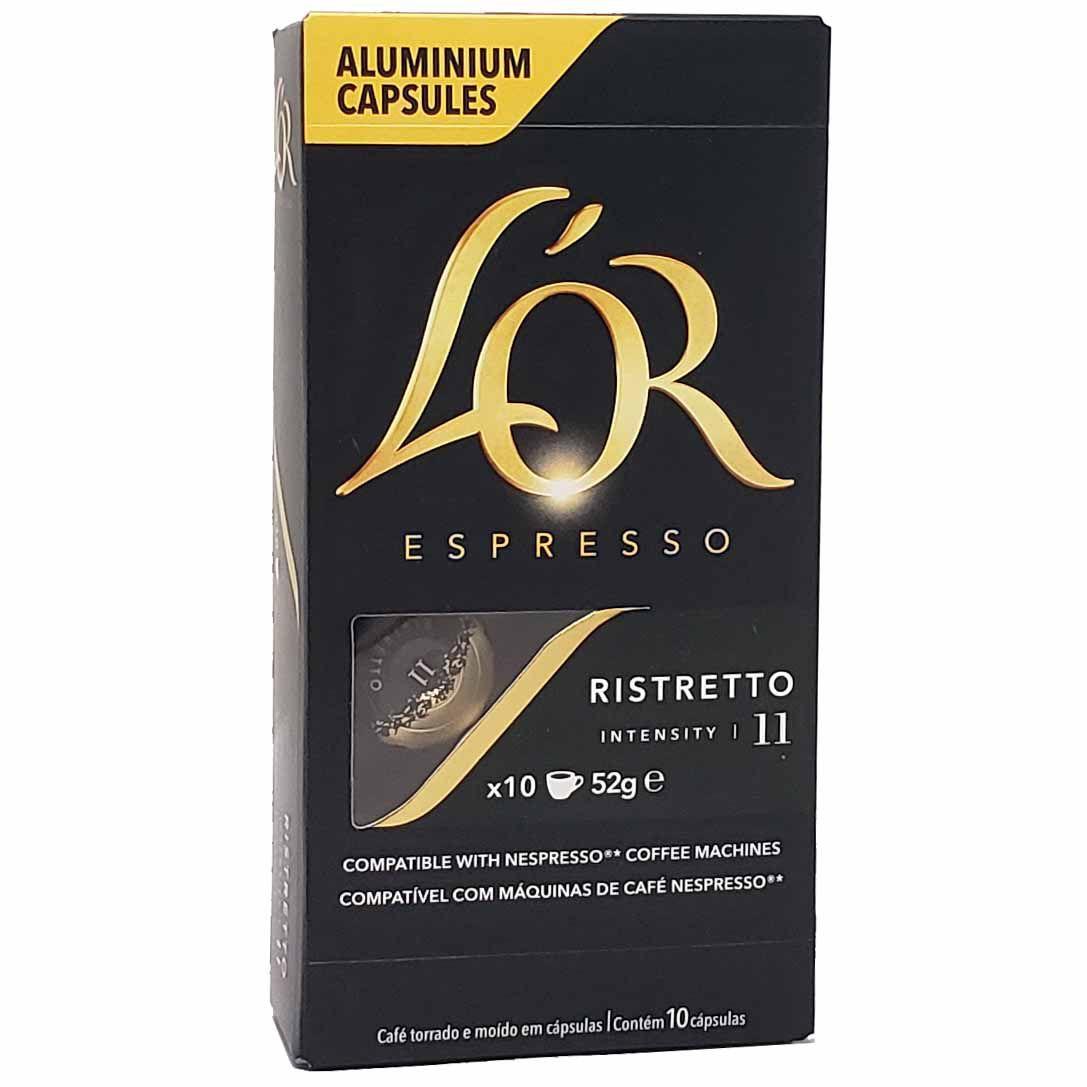 Café em Capsulas Estremo Ristretto 11 L'OR Espresso - 10 x 52g -