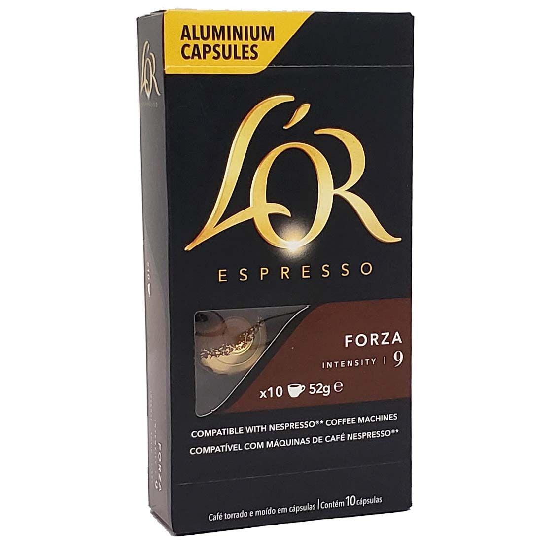 Café em Capsulas Forza 9 L'OR Espresso - 10 x 52g -