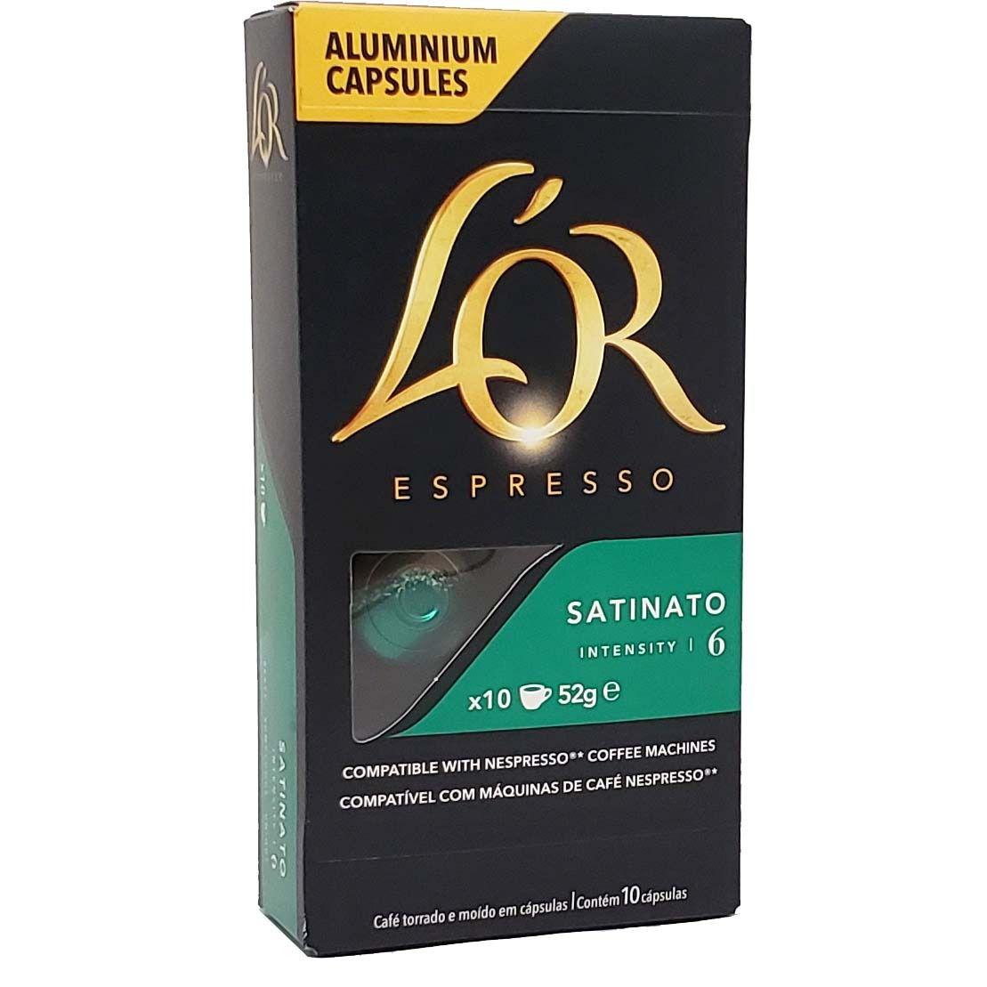 Café em Capsulas Satinato 6 L'OR Espresso - 10 x 52g -