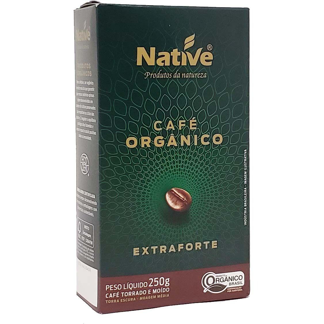 Café Orgânico Extraforte Native - 250g -