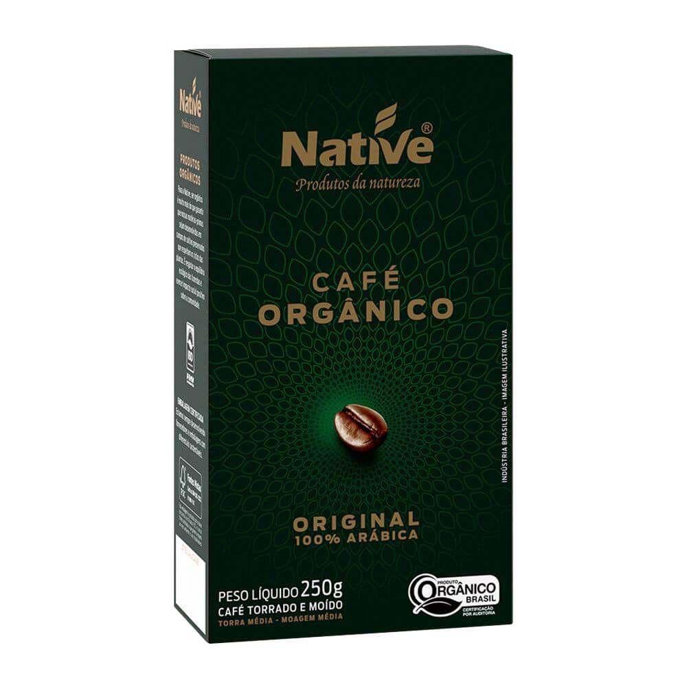 Café Orgânico Original 100% Arábica Native - 250g -